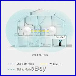 TP-Link 3 Unit Pack Deco M9 Plus Smart Home Mesh Dual-Band Wi-Fi Wireless System