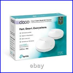TP-Link DECO M9 PLUS AC2200 Smart Whole Home Mesh Wi-Fi SystemPack of 2White