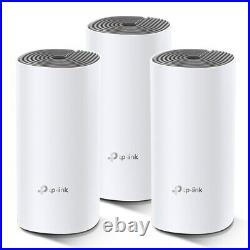 TP-Link Deco E4 Whole Home Mesh Wi-Fi AC1200 System (White) 3 Pack