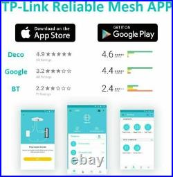 TP-Link Deco M5 Mesh WiFi Whole Home 2000Sqft Coverage Add-on Unit White Booster