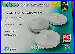 TP-Link Deco M5 Whole Home Mesh Wi-Fi System, 5500 sq ft coverage, pack of 3