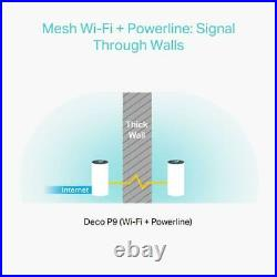 TP-Link Deco P9(2-pack) Whole Home Mesh Wi-Fi System Up To 4000 Sq ft
