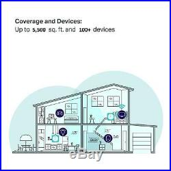 TP-Link Deco Whole Home Mesh WiFi System 3 pack 5,000 ft coverage NEW