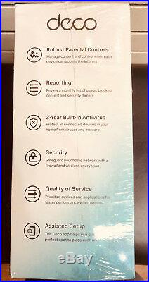 TP-Link Deco Whole Home Mesh WiFi System Replace Router Range Up 5,500sq Ac1300