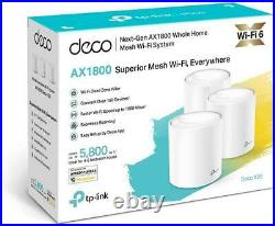 TP-Link Deco X20(3-pack) AX1800 Whole Home Mesh Wi-Fi 6 System ext-Gen WiFi 6 UK