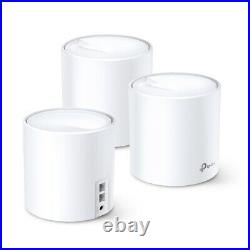 TP Link Deco X20 AX1800 6 Mesh Whole Home WiFi System 3 Pack 5800 Sqft TPLink MP
