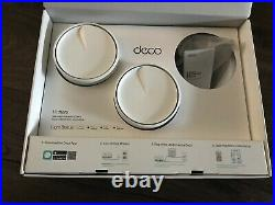 TP-Link Deco X20 AX1800 Whole Home Mesh Wi-Fi System 2 Units Boxed VGC