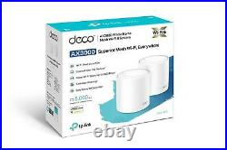TP-Link Deco X60 AX3000 Whole Home Mesh Wi-Fi 6 System (2-Pack)