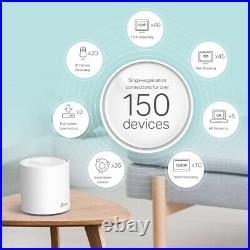 TP Link Deco X60 AX3000 Whole Home Mesh WiFi 6 System 3 Pack White TPLink MP