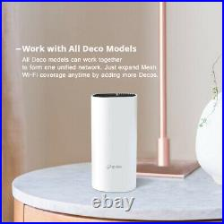 TP-Link DecoE4 Whole Home Mesh Wi-Fi System Seamless Speedy AC1200 White Booster