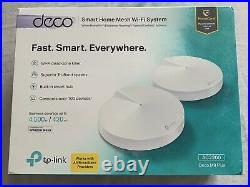 TP-link DECO M9 PLUS AC2200 Smart Home Mesh Wi-Fi System (2-PACK) AC2200
