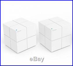 Tenda Nova MW6(2-pack) Whole Home Mesh WiFi System Coverage Up To 4,000 Sq. Ft