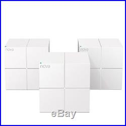 Tenda Nova MW6(3-pack) Whole Home Mesh Router WiFi System Coverage up to 6,000 s