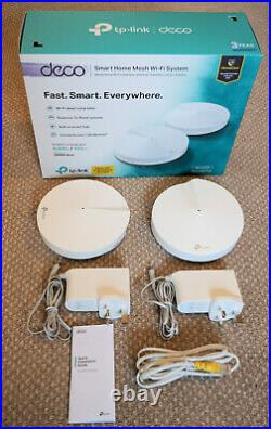 Tp-Link Deco AC2200 M9 Plus Smart Home Mesh Wi-Fi System White (Pack of 2)