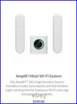 U Labs Amplifi Mesh Wifi Router Smart Home Booster, gaming users